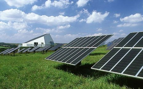 95175622 t1520446 photovoltaic panels at solar power station spl - Germany to push for carbon price at G20