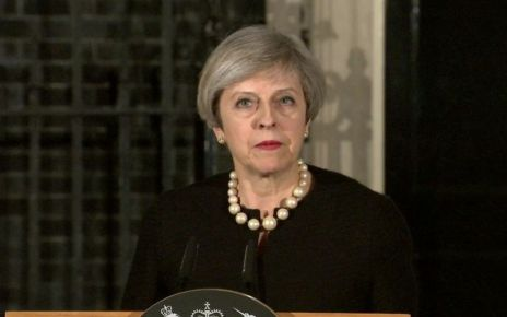 95277686 mayds - London attack: May condemns 'sick and depraved terrorist attack'