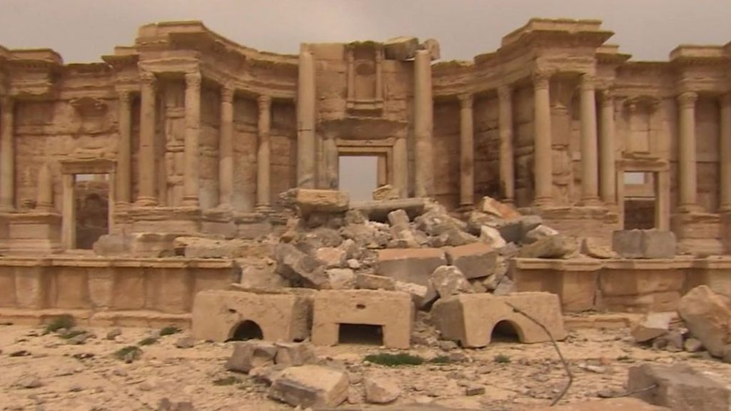95286346 p04xscqv - IS leaves trail of destruction in Syria's Palmyra