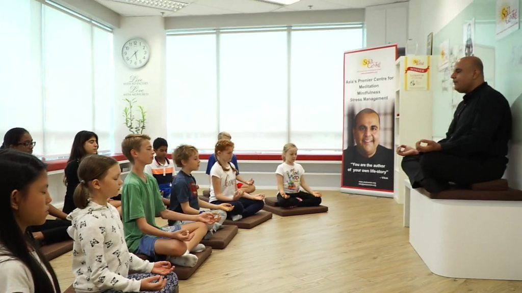 95292927 p04xslpd - Kids and meditation - it's a business, of course