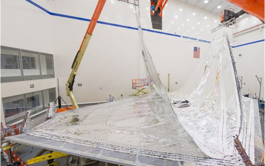 97270797 17 0717 sp rmb 5558pan - James Webb: Telescope's giant origami shield takes shape