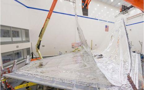 97270797 17 0717 sp rmb 5558pan - James Webb: Telescope's giant origami shield takes shape
