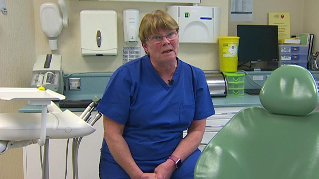 p05bw51b - Row over £1.3m 10,000 new NHS dental places funding