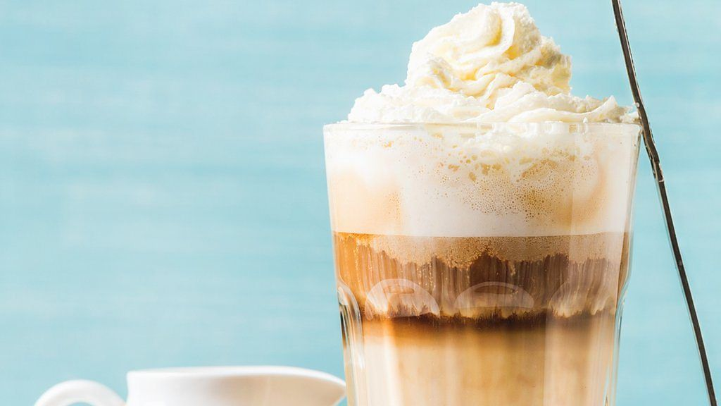 97691983 p05fblh3 - Did you order that large coffee with whipped cream?
