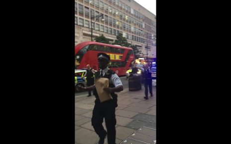 p05ff8t4 - 'Electrical explosion' on Oxford Street injures one man