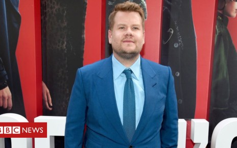 101970183 gettyimages 967886184 - James Corden has given up meat because of animal abuse