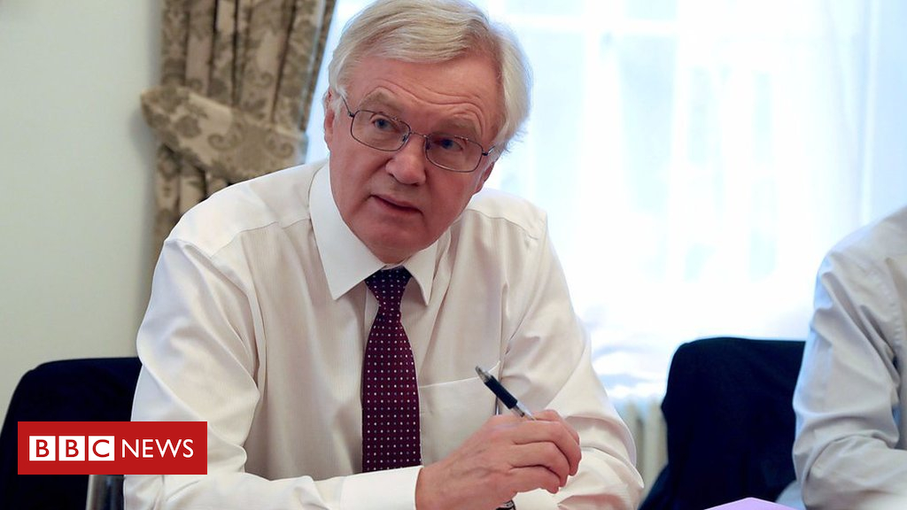 101984559 p069tzcy - Brexit Secretary David Davis says referendum 'irreversible'