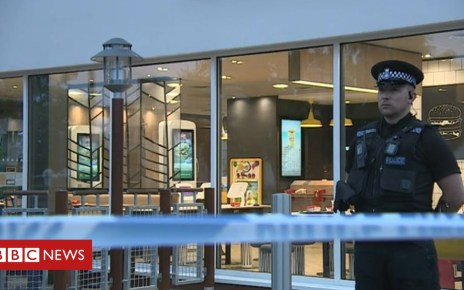102012045 stab1 - Ipswich McDonald's stabbing: Four arrested