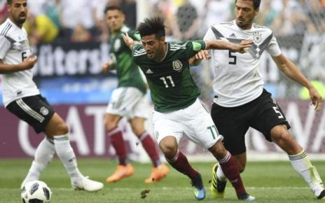 102095235 carlosvelagetty - World Cup 2018: Fifa investigates 'homophobic chanting' by Mexico fans