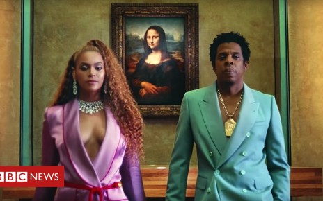 102099125 beyjay - Beyonce and Jay-Z's joint album was finished hours before it was released