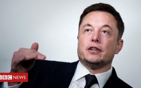 102106562 musk afp - Tesla chief Elon Musk accuses worker of sabotage