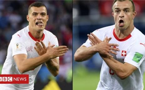 102171152 mediaitem102171151 - 'Double eagle' celebration provokes Serbs
