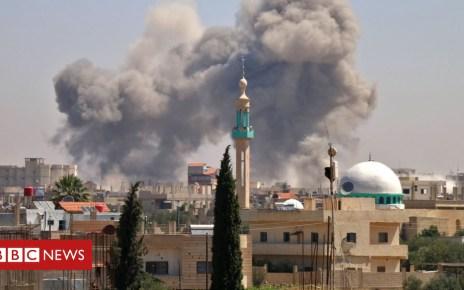 102225836 mediaitem102225832 - Air strikes knock out Syrian hospitals
