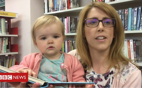 102249209 p06cb7nk - Mum's worries over Northamptonshire library closures