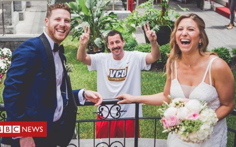 102266792 sandler - Adam Sandler: Wedding Singer turns wedding crasher