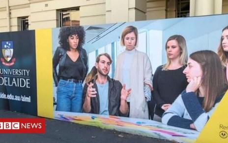102270481 adelaide - 'Mansplaining' advert for University of Adelaide draws criticism