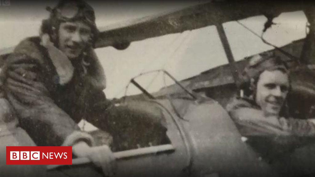 102270553 p06chftr - WW2 pilot takes helicopter to make comrade's funeral