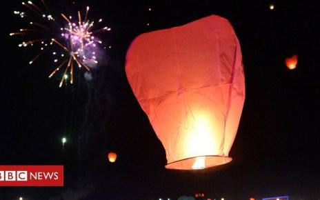 102229785 hi018519359 - Peak District sky lantern fest is moorland 'fire risk'