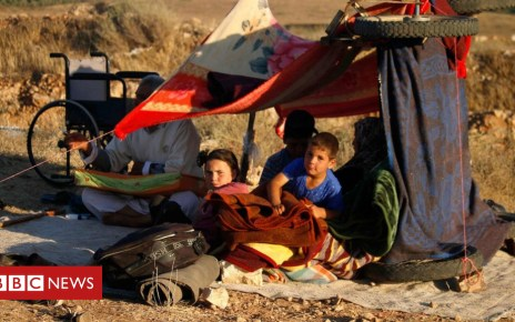 102296645 mediaitem102296639 - Syria war: 270,000 displaced by fighting in south-west