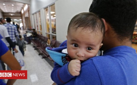 102317566 tv047826089 - Migrant separations: Toddlers facing court cases alone