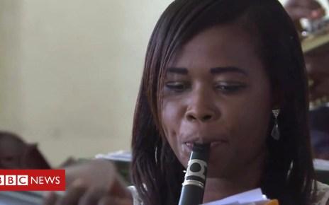 102379803 p06cv7bd - Ghana orchestra reinterprets Western classical music for Africa