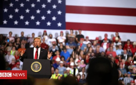 102407774 gettyimages 992380194 - Donald Trump raises stakes as US-China trade war begins