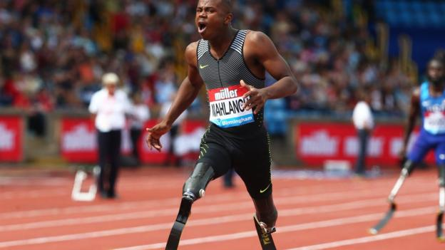 102442747 ntandomahlangu - Paralympian Ntando Mahlangu: 'If people call me the new blade runner it doesn't bother me'