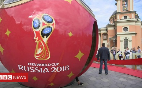102455759 p06dbrcf - World Cup: Which fans made the journey to Russia?
