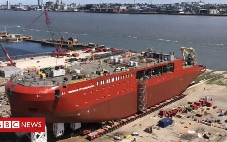 102460825 top - Sir David Attenborough polar ship ready for launch