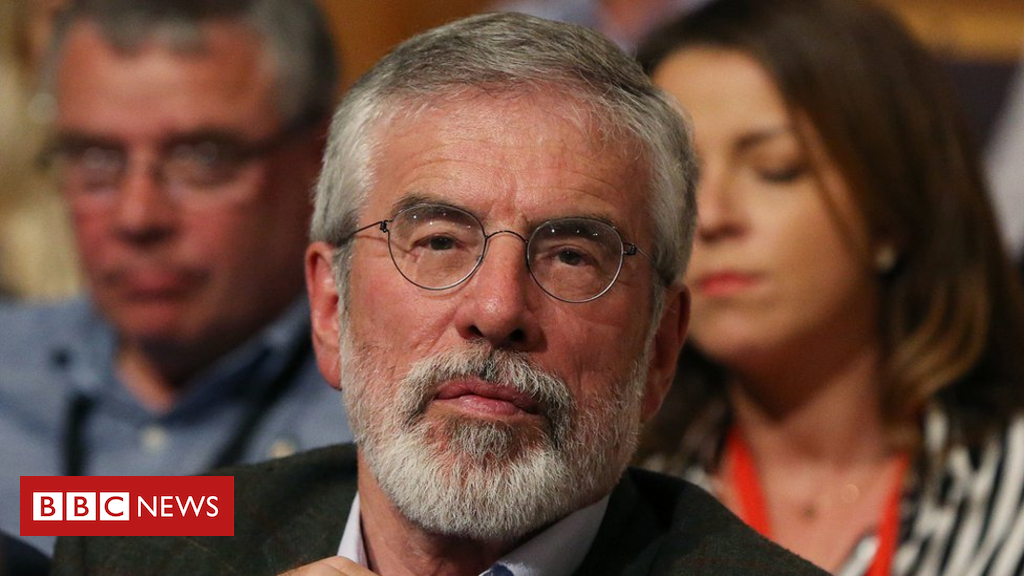 102523566 hi047500045 - 'Explosive' thrown at Gerry Adams' house