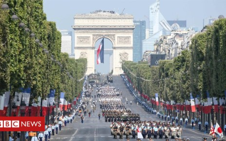 102526225 mediaitem102526154 - In pictures: France marks Bastille Day with spectacular parade