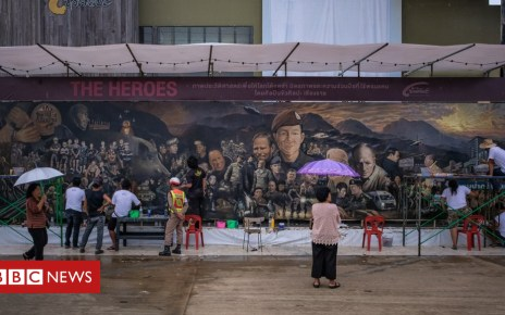 102621833 gettyimages 1002266036 - Thai artists' huge mural of cave rescue heroes