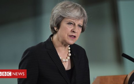 102646134 may pa - Brexit deal: Let's get on with it, says Theresa May