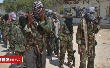 102650877 al shabab - Somalia's al-Shabab carries out attack on military base