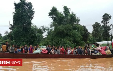 102678416 f5f5913f ec8f 4f16 8d93 a91e5ca62b27 - Laos dam collapse: Race to rescue flooded villagers