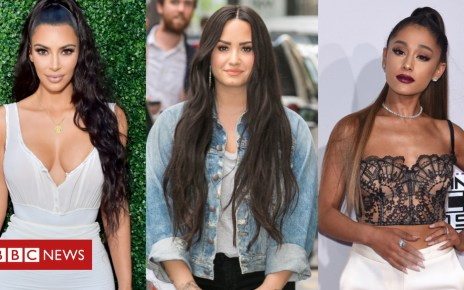 102684540 kimk - Stars come out to support hospitalised Demi Lovato