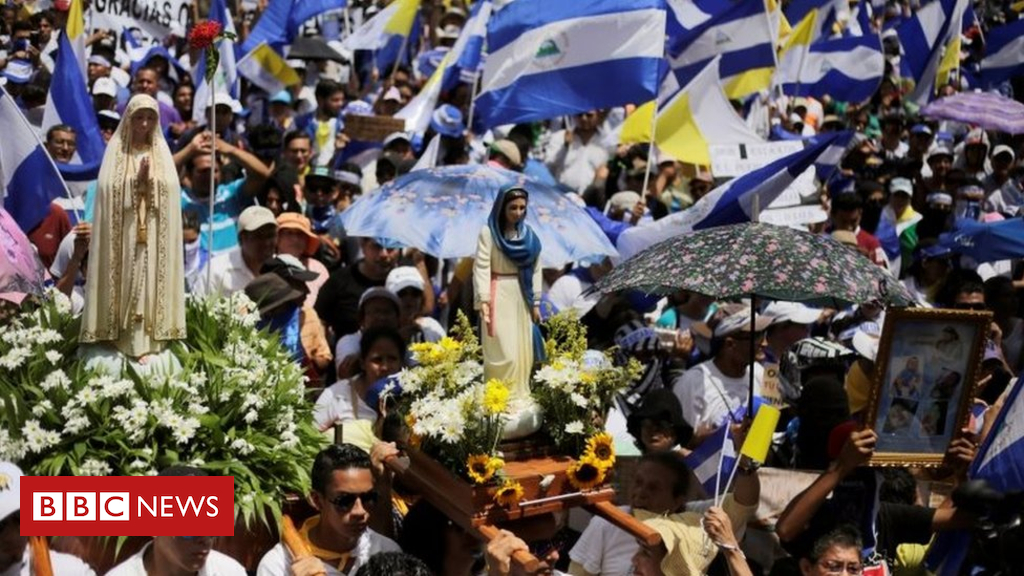 102743678 9340f77f 59c6 4110 ac50 0d5c1a7705cd - Nicaragua protests: Thousands show support for Catholic Church
