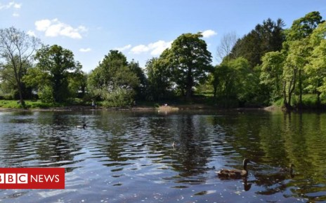 102760387 ilkley - River sewage: Ilkley beauty spot 'blighted' by waste