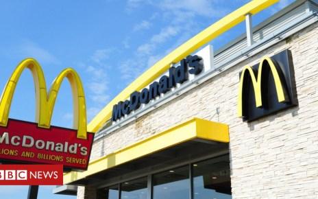 102778426 hi048353157 - McDonald's serves pregnant Canadian cleaning fluid latte