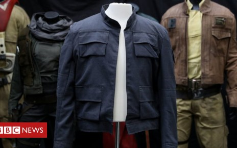 102778736 hi048424978 - Star Wars jacket expected to fetch up to £1m at auction