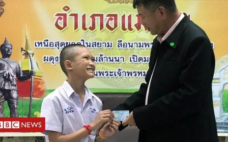 102876415 37ab9142 0b83 4d5a a32c 808d6092a3b7 - Thai cave rescue: Coach and boys given citizenship