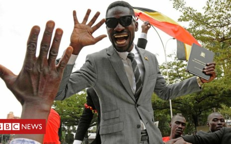 102984991 gettyimages 812671438 - Uganda's Bobi Wine: Charges against star MP 'dropped'
