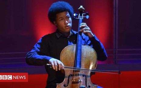 103041697 shekubbc - Sheku Kanneh-Mason: Teen cellist wins new Breakthrough music prize