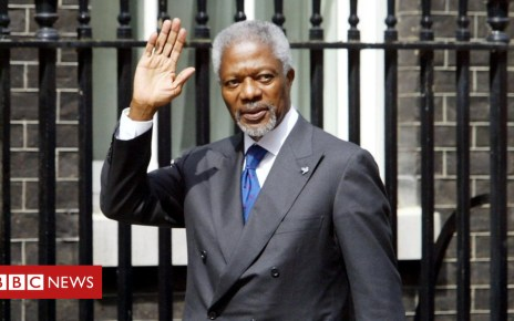 103070138 gettyimages 511133270 - Kofi Annan: Theresa May pays tribute to 'great leader'