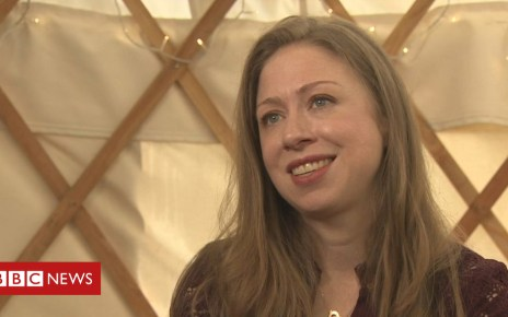 103094641 a01efd23 06c7 41f8 bd68 016b864a3bba - Chelsea Clinton says Nicola Sturgeon is 'incredibly courageous'