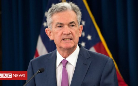 103162993 hi048822049 - US Fed head Jerome Powell backs cautious path on rates
