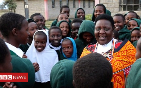 103166830 p06jdclk - FGM: The Maasai woman on a mission to educate her community