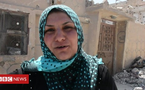 103175122 p06j1zlg - A Syrian family's return to Raqqa after five years of struggle