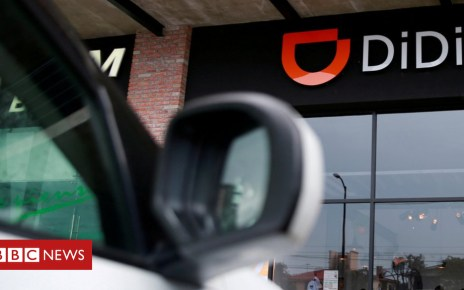 103176071 048050512 - Didi Chuxing suspends carpool service after woman killed
