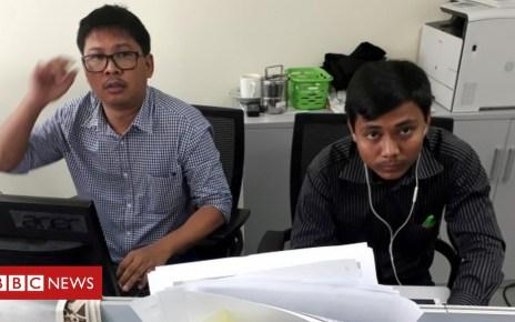 103182886 mediaitem103182883 - Myanmar Reuters journalists Wa Lone and Kyaw Soe Oo await verdict